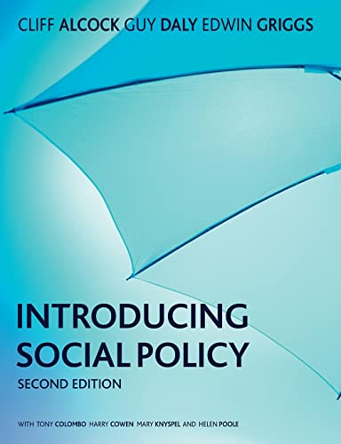 9781405858489: Introducing Social Policy