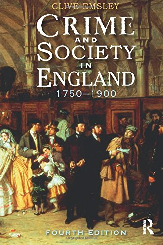 9781405858632: Crime and Society in England: 1750 - 1900 (Themes In British Social History)