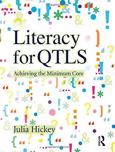 9781405859462: Literacy for QTLS: Achieving the Minimum Core