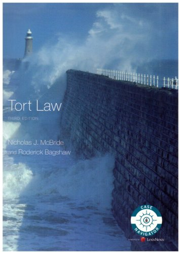 9781405859493: McBride and Bagshaw: Tort Law