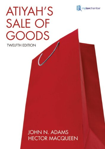 9781405859530: Atiyah's Sale of Goods (12th Edition)
