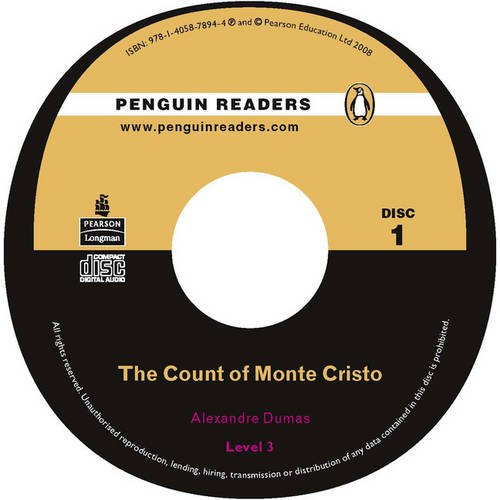 9781405860239: PLPR3:Count of Monte Cristo, The CD for Pack (Penguin Readers (Graded Readers))