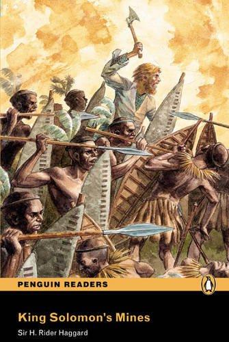 9781405860505: PLPR4:King Solomons Mine Bk/CD Pack (Penguin Readers (Graded Readers))