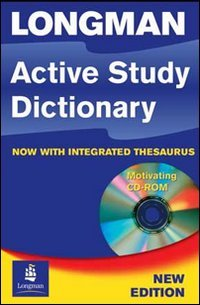 9781405862288: Longman active study dictionary with integrated thesaurus. Con CD-ROM (Longman Active Study Dictionary of English)