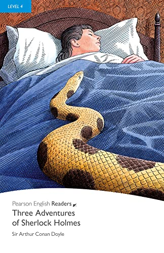 9781405862424: Three Adventures of Sherlock Holmes, Level 4, Penguin Readers (2nd Edition) (Penguin Readers, Level 4)