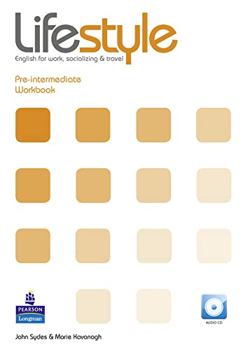 9781405863933: Lifestyle Pre-Intermediate Workbook for Pack