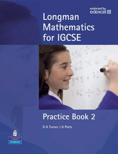 9781405865043: Longman Mathematics for IGCSE: Practice Book Bk. 2