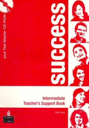 9781405865104: Success Intermediate Teacher's Book Pack