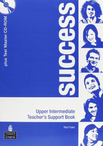 9781405865111: Success Upper Intermediate Teacher's Book Pack (Success)