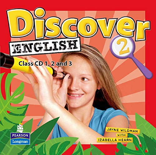 9781405866439: Discover English Global 2 Class CDs