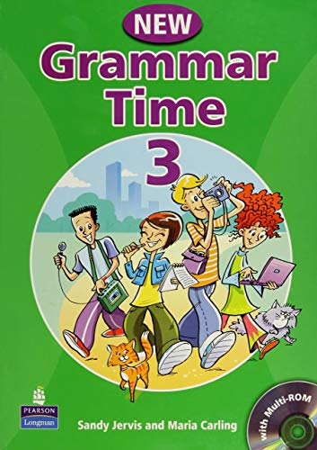 9781405866996: Grammar time. Student's book. Per la Scuola media. Con CD-ROM: New Grammar Time - Students' Book 3 (+ CD)