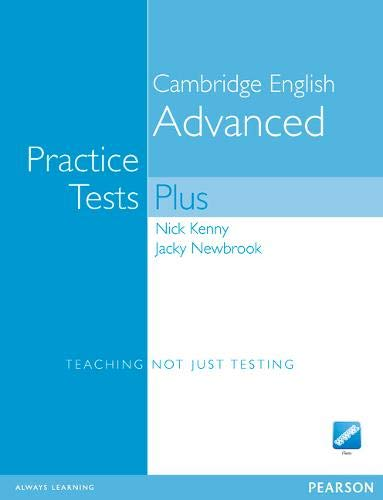 9781405867160: Practice Tests Plus CAE New Edition Students Book without Key for Pack