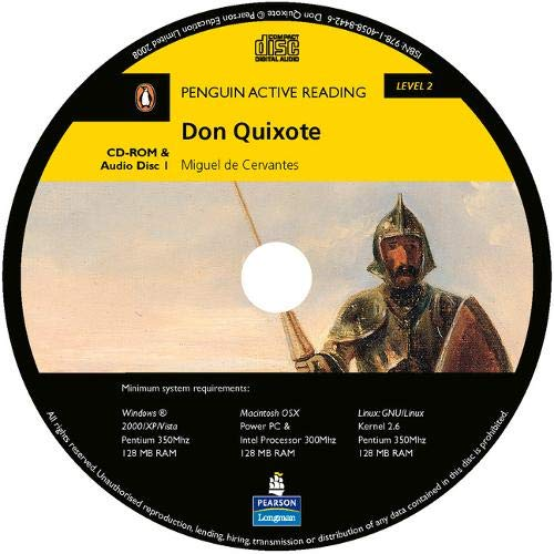 9781405867887: PLAR2:Don Quixote Multi-ROM for Pack (Penguin Active Reading (Graded Readers))