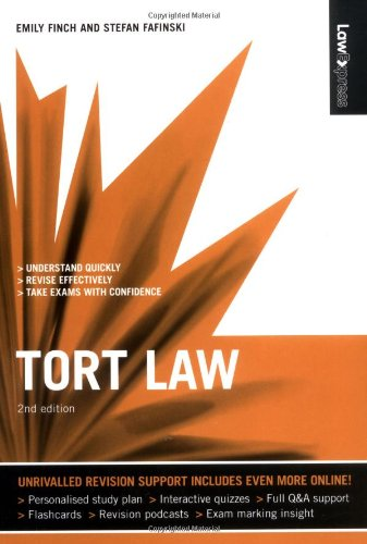 9781405873628: Law Express Tort Law