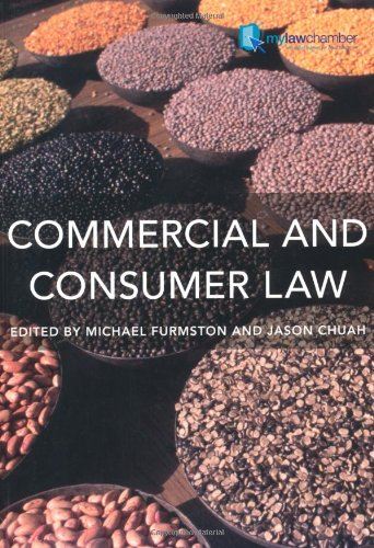 Commercial and Consumer Law: M. P. Furmston