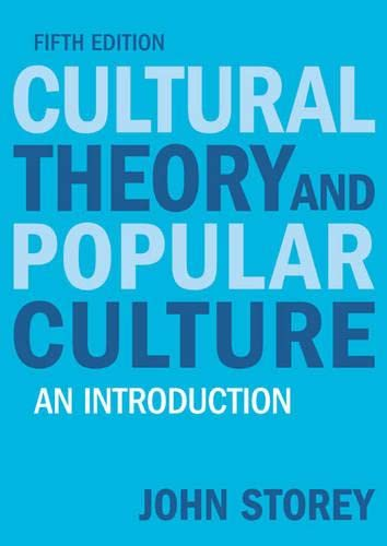 9781405874090: Cultural Theory and Popular Culture