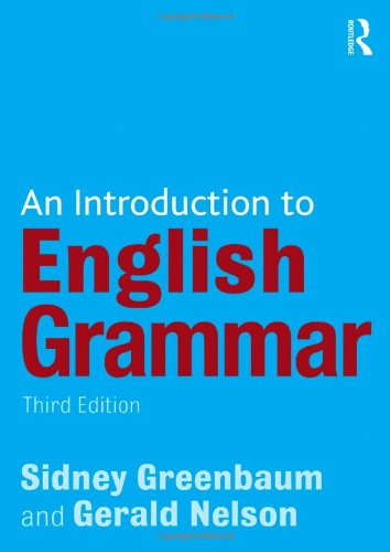 9781405874120: An Introduction to English Grammar