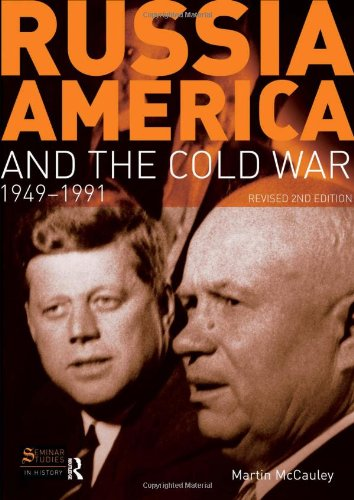 9781405874304: Russia, America and the Cold War: 1949-1991 (Revised 2nd Edition) (Seminar Studies)