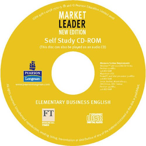 9781405875103: Market Leader Elementary Multi-Rom for Pack