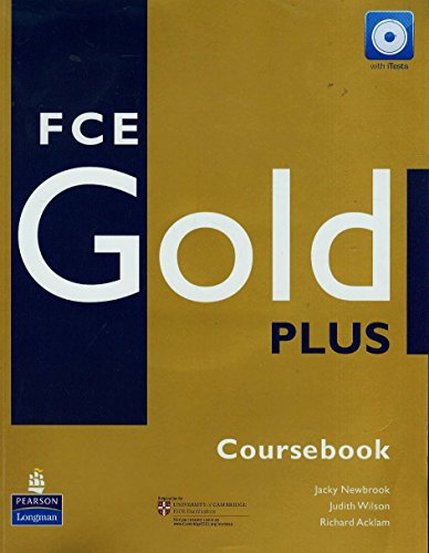 9781405876780: FCE Gold Plus. Coursebook (+ CD)
