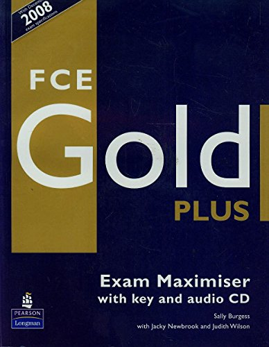 9781405876797: FCE Gold Plus. Exam Maximiser