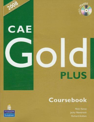 9781405876803: Gold plus CAE level. Coursebook. Con Itest. Per le Scuole superiori. Con CD-ROM