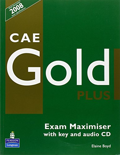9781405876810: CAE Gold PLus Maximiser and CD with key Pack