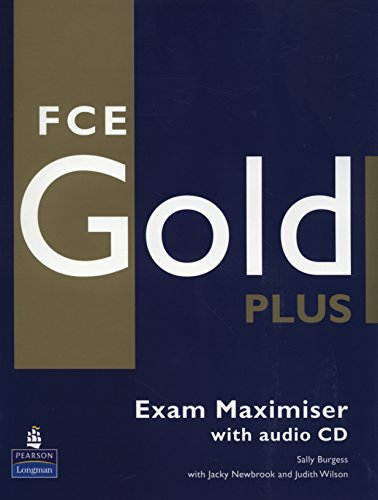 9781405876827: FCE Gold Plus. Exam Maximiser With Audio CD: No Key