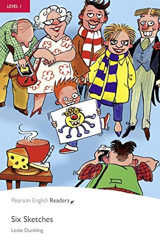 9781405878203: Penguin Readers 1: Six Sketches Book & CD Pack: Level 1 (Pearson English Graded Readers) - 9781405878203