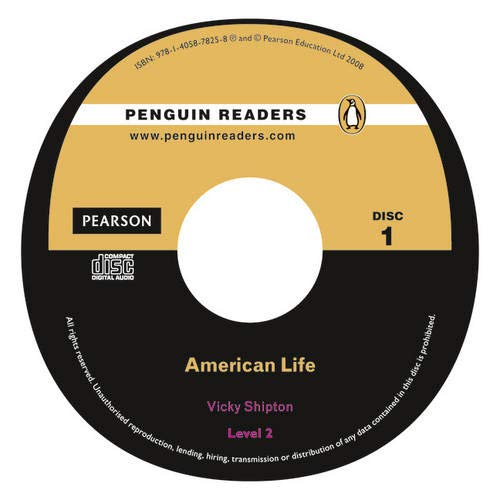 9781405878258: Peguin Readers 2:American Life Book & CD Pack: Level 2 (Pearson English Graded Readers) - 9781405878258