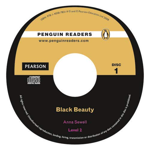 9781405878319: Peguin Readers 2:Black Beauty Book & CD Pack: Level 2 (Penguin Readers (Graded Readers)) - 9781405878319