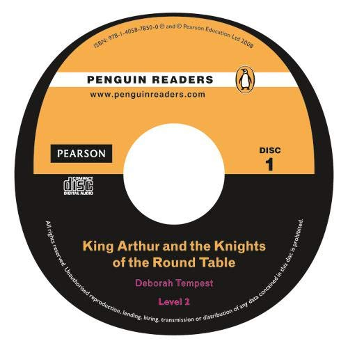 9781405878500: Peguin Readers 2:King Arthur and the Knights of the Round Table Book & CD Pack: Level 2 (Penguin Readers (Graded Readers))