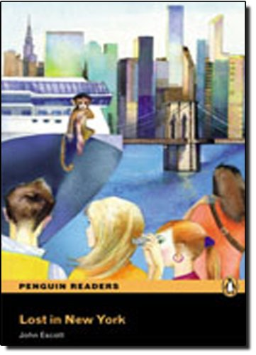 9781405878548: Lost in New York Book/CD Pack: Level 2 (Penguin Readers (Graded Readers))