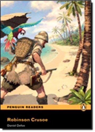 """Robinson Crusoe"""" Book/CD Pack: Level 2 (Penguin: Danial Defoe"""