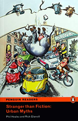 9781405878746: Peguin Readers 2:Stranger than Fiction: Urban Myths Book & CD Pack: Level 2 (Penguin Readers (Graded Readers)) - 9781405878746