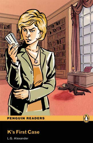 9781405879156: Peguin Readers 3:K's First Case Book & CD Pack: Level 3 (Penguin Readers (Graded Readers)) - 9781405879156