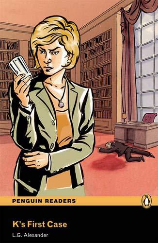 9781405879156: K's First Case Book/CD Pack: Level 3 (Penguin Readers (Graded Readers))