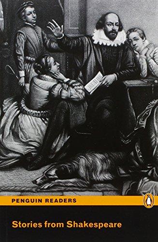 9781405879385: Stories from Shakespeare Book/CD Pack: Level 3 (Penguin Readers (Graded Readers))