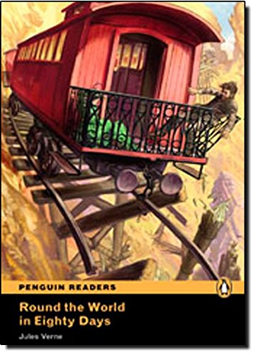 Peguin Readers 5:Round the world in 80: Jules Verne