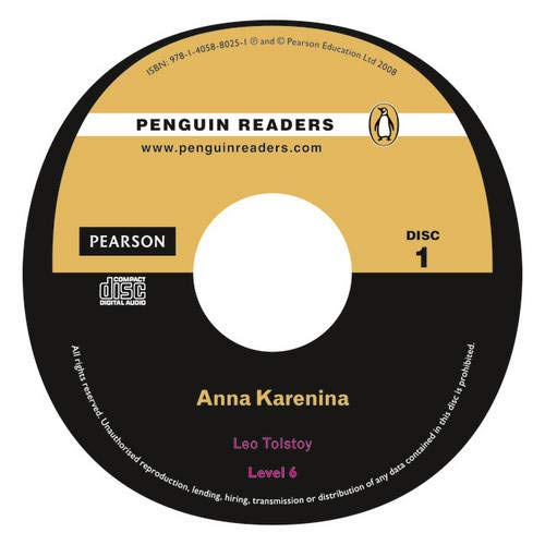 9781405880251: Peguin Readers 6:Anna Karenina Book & CD Pack: Level 6 (Penguin Readers (Graded Readers))