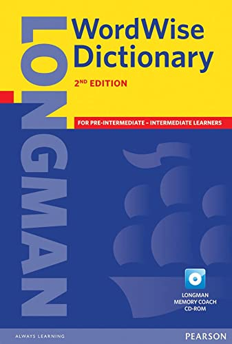 9781405880787: Longman Wordwise Dictionary Paper and CD ROM Pack 2ED