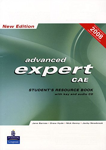 9781405880817: CAE Expert New Edition Students Resource Book with Key/CD Pack (Expert)