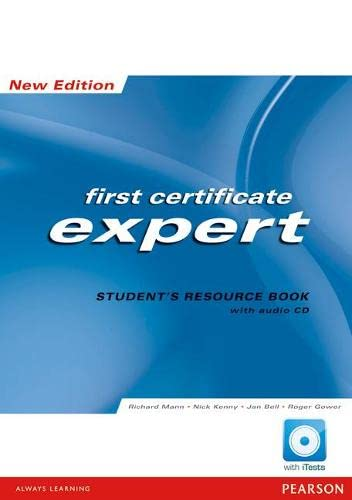 FCE Expert: Students Resource Book No Key: Kenny, Nick, Bell,