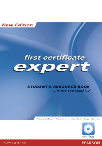 FCE Expert new Edition Students Resource Book: Richard Mann, Nick
