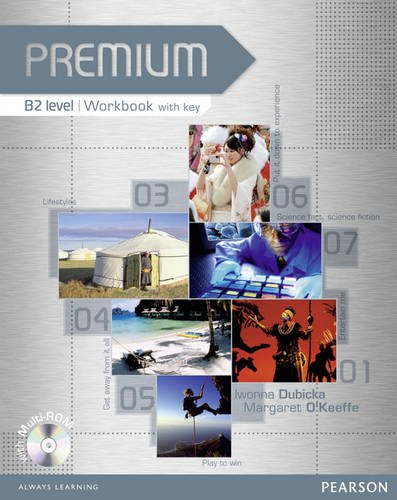 9781405881067: Premium B2 Level Workbook with Key/CD-ROM Pack: Workbook with Key Level B2