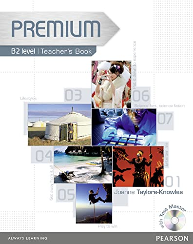 9781405881074: Premium B2 Level Teachers Book/test Master CD-ROM Pack: Teachers Book/test Master Level B2