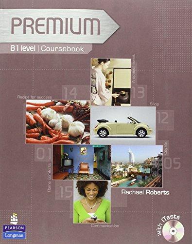 9781405881128: Premium B1 Level Coursebook/exam Reviser/test CD-Rom Pack