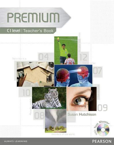 9781405881159: Premium C1 Level Teachers Book/Test Master CD-ROM Pack