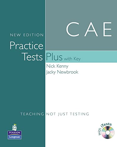 9781405881197: CAE Practice Tests(+[With Key and Audio CD]) (Practice Tests Plus)