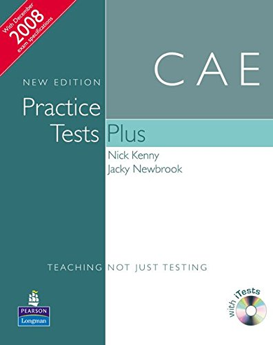 9781405881203: Practice Tests Plus CAE New Edition Students Book without key/CD-ROM Pack